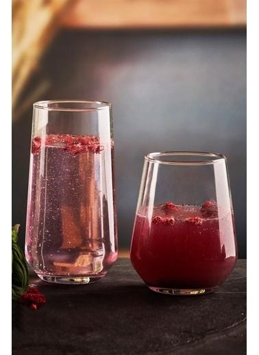 Paşabahçe Allegra Su Bardak Takımı - Su Bardağı Seti 12 Prç. Renkli